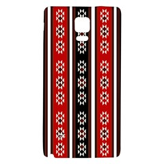 Folklore Pattern Galaxy Note 4 Back Case by Valentinaart