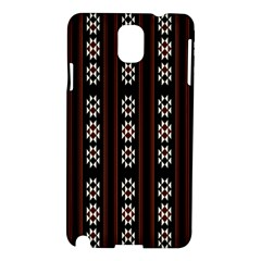 Folklore Pattern Samsung Galaxy Note 3 N9005 Hardshell Case by Valentinaart