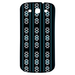 Folklore Pattern Samsung Galaxy S3 S Iii Classic Hardshell Back Case by Valentinaart
