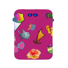 Aloha   Summer Fun 1 Apple Ipad 2/3/4 Protective Soft Cases by MoreColorsinLife