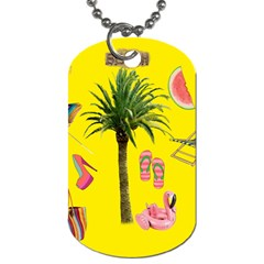 Aloha   Summer Fun 2 Dog Tag (two Sides) by MoreColorsinLife
