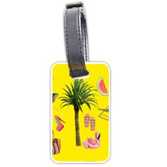 Aloha   Summer Fun 2 Luggage Tags (one Side)  by MoreColorsinLife