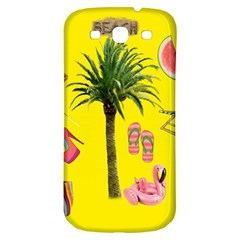 Aloha   Summer Fun 2 Samsung Galaxy S3 S Iii Classic Hardshell Back Case by MoreColorsinLife