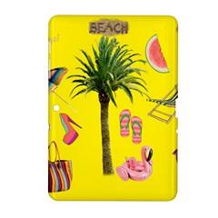 Aloha   Summer Fun 2 Samsung Galaxy Tab 2 (10 1 ) P5100 Hardshell Case  by MoreColorsinLife