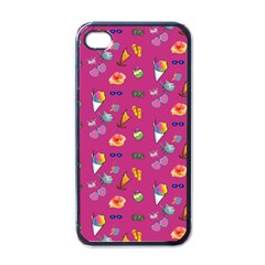 Aloha   Summer Fun 1b Apple Iphone 4 Case (black) by MoreColorsinLife