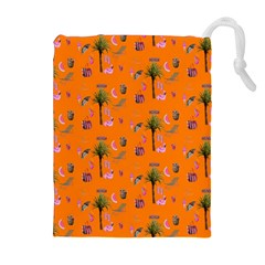 Aloha   Summer Fun 2c Drawstring Pouches (extra Large) by MoreColorsinLife