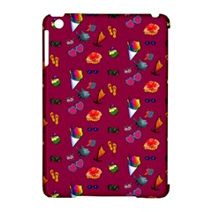 Aloha   Summer Fun 1c Apple Ipad Mini Hardshell Case (compatible With Smart Cover) by MoreColorsinLife