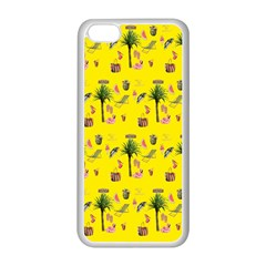 Aloha   Summer Fun 2b Apple Iphone 5c Seamless Case (white) by MoreColorsinLife