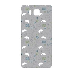 Shave Our Rhinos Animals Monster Samsung Galaxy Alpha Hardshell Back Case by Mariart