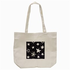 Star Space Line Blue Art Cute Kids Tote Bag (cream) by Mariart