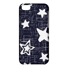 Star Space Line Blue Art Cute Kids Apple Iphone 5c Hardshell Case by Mariart