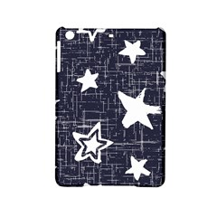 Star Space Line Blue Art Cute Kids Ipad Mini 2 Hardshell Cases by Mariart