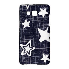 Star Space Line Blue Art Cute Kids Samsung Galaxy A5 Hardshell Case  by Mariart