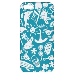 Summer Icons Toss Pattern Apple Iphone 5 Hardshell Case by Mariart