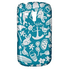 Summer Icons Toss Pattern Galaxy S3 Mini by Mariart
