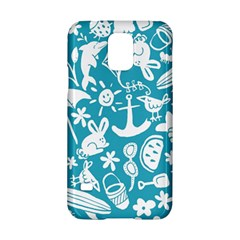 Summer Icons Toss Pattern Samsung Galaxy S5 Hardshell Case  by Mariart