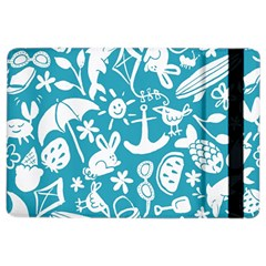 Summer Icons Toss Pattern Ipad Air 2 Flip by Mariart