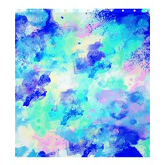 Transparent Colorful Rainbow Blue Paint Sky Shower Curtain 66  X 72  (large)  by Mariart