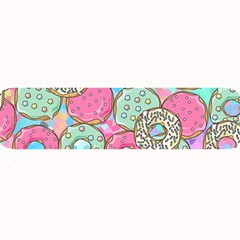 Donuts Pattern Large Bar Mats by ValentinaDesign