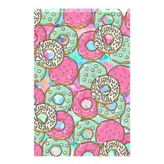 Donuts Pattern Shower Curtain 48  X 72  (small)  by ValentinaDesign