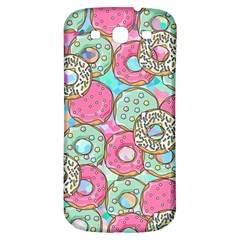 Donuts Pattern Samsung Galaxy S3 S Iii Classic Hardshell Back Case by ValentinaDesign