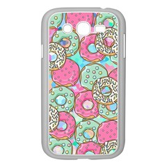 Donuts Pattern Samsung Galaxy Grand Duos I9082 Case (white) by ValentinaDesign