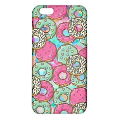 Donuts Pattern Iphone 6 Plus/6s Plus Tpu Case by ValentinaDesign