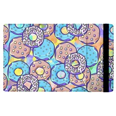 Donuts Pattern Apple Ipad Pro 12 9   Flip Case by ValentinaDesign