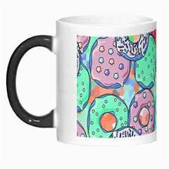 Donuts Pattern Morph Mugs by ValentinaDesign
