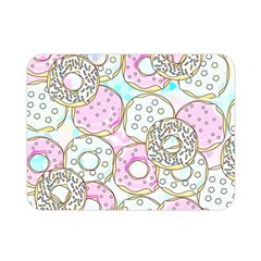 Donuts Pattern Double Sided Flano Blanket (mini)  by ValentinaDesign