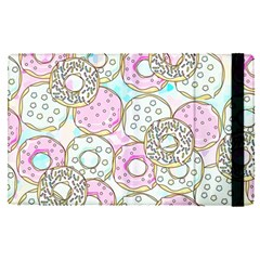 Donuts Pattern Apple Ipad Pro 9 7   Flip Case by ValentinaDesign