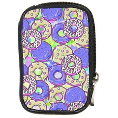 Donuts Pattern Compact Camera Cases by ValentinaDesign