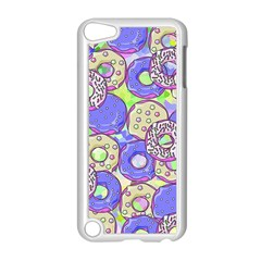 Donuts Pattern Apple Ipod Touch 5 Case (white) by ValentinaDesign