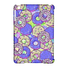 Donuts Pattern Apple Ipad Mini Hardshell Case (compatible With Smart Cover) by ValentinaDesign