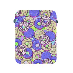 Donuts Pattern Apple Ipad 2/3/4 Protective Soft Cases by ValentinaDesign