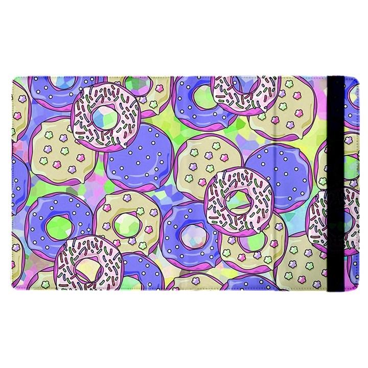Donuts pattern Apple iPad Pro 9.7   Flip Case
