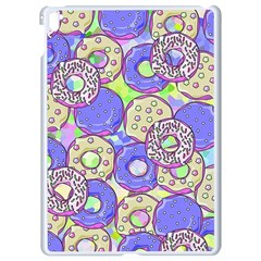 Donuts Pattern Apple Ipad Pro 9 7   White Seamless Case by ValentinaDesign