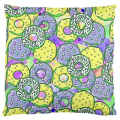 Donuts Pattern Large Cushion Case (one Side) by ValentinaDesign