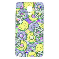 Donuts Pattern Galaxy Note 4 Back Case by ValentinaDesign