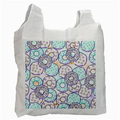 Donuts Pattern Recycle Bag (two Side)  by ValentinaDesign