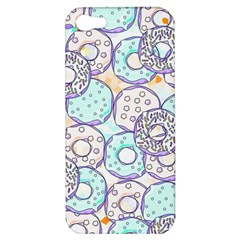 Donuts Pattern Apple Iphone 5 Hardshell Case by ValentinaDesign