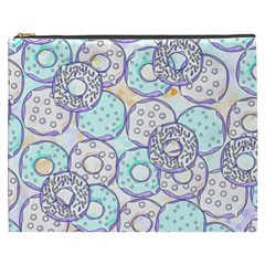 Donuts Pattern Cosmetic Bag (xxxl)  by ValentinaDesign