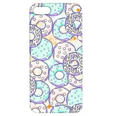 Donuts Pattern Apple Iphone 5 Hardshell Case With Stand by ValentinaDesign