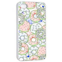 Donuts Pattern Apple Iphone 4/4s Seamless Case (white) by ValentinaDesign