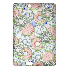 Donuts Pattern Amazon Kindle Fire Hd (2013) Hardshell Case by ValentinaDesign