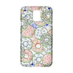 Donuts Pattern Samsung Galaxy S5 Hardshell Case  by ValentinaDesign