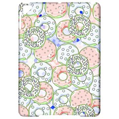 Donuts Pattern Apple Ipad Pro 9 7   Hardshell Case by ValentinaDesign