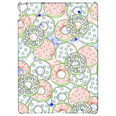 Donuts Pattern Apple Ipad Pro 12 9   Hardshell Case by ValentinaDesign
