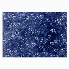 Heart Pattern Large Glasses Cloth by ValentinaDesign