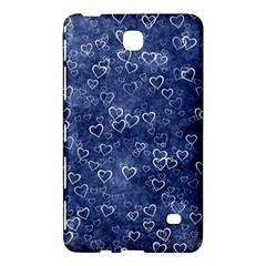 Heart Pattern Samsung Galaxy Tab 4 (7 ) Hardshell Case  by ValentinaDesign